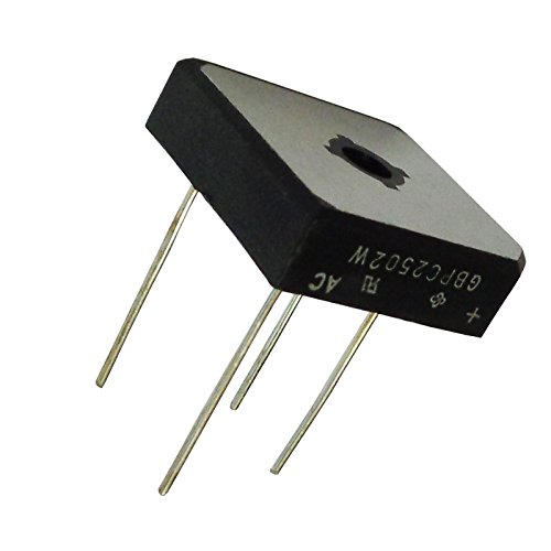 On Semiconductor GBPC2502W Brückengleichrichter 25A 200V 4-Pin Gbpc-W