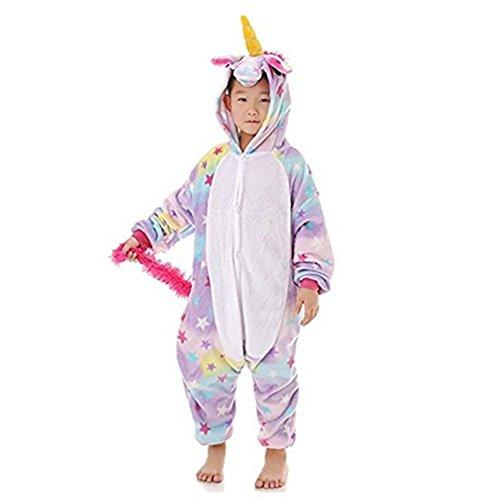 3c8ae7c86 Niños Unisex Unicornio Animales Loungewear Pijamas Ropa de fiesta Ropa de  dormir Disfraces Cosplay (Estrella