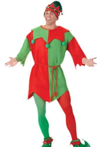 erdbeerloft Herren Karnevalskomplett Kostüm Elfen Tunika, S-XL, ()