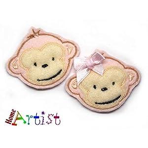 Affe Haarspange für Kleinkinder – freie Farbwahl