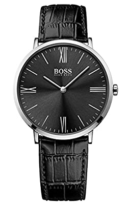 HUGO BOSS Men's Analogue Quartz Watch with Leather Strap - 1513369