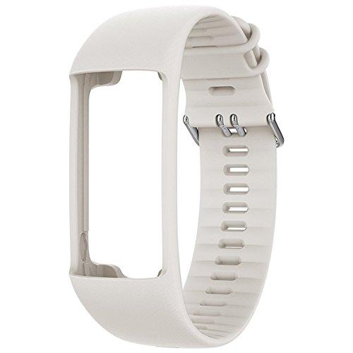 Polar Wrist Strap A370 Wechselarmband, Weiß, M/L