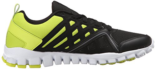 Reebok RealFlex train Shoe 3.0 Formation Black/Semi Solar Yellow/Gravel/White/Flat Grey