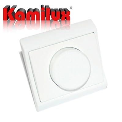 Phasenabschnittdimmer Dimmer 300 W VDE UP Drehdimmer von Kamilux GmbH bei Lampenhans.de