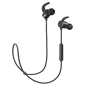 TaoTronics Bluetooth Ausinės 4.1 In Ear Ausinės 9 Stunden Spielzeit IPX6 Wasser- & Schweißgeschützt CNC-Verarbeitung unterstützt OTG-Laden kompatibel mit Android IOS Geräten