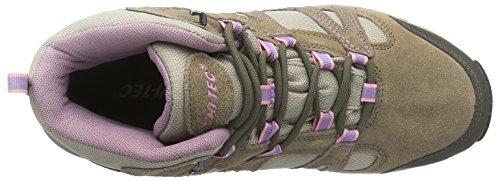 Hi-Tec - Alto II Mid WP W', Scarpe da escursionismo Donna Marrone (Braun (Lt Taupe/Grey/Horizone 041))