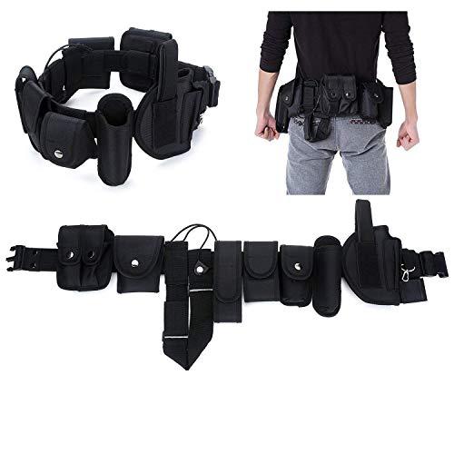 Seguridad Cinturón Táctico de Utilidad,Ajustable Nylon Militar Cinturón Conveniente para la Policía,...