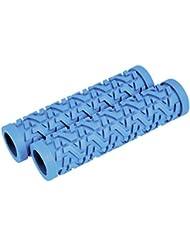 Longus manillar Grip Zik–120mm–azul
