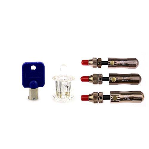 lockmall-trasparente-tubolare-serratura-3pz-rame-tubolare-serratura-set-per-principiante-pratica