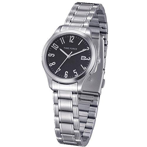 TIME FORCE 81662 - Orologio da polso, cinturino in acciaio inossidabile colore argento