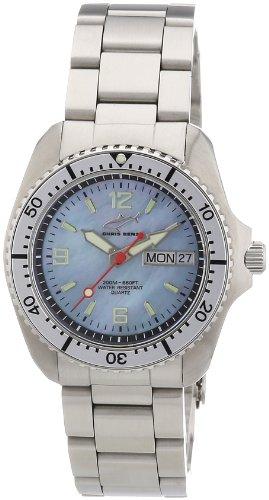 Chris Benz - CBM.H.MB.SI - Montre Mixte - Quartz Analogique - Bracelet Acier Inoxydable Argent