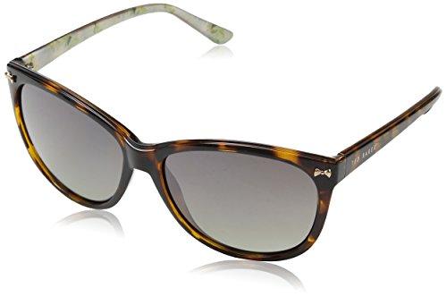 Ted Baker Damen Raine Sonnenbrille, Braun (Tort/pink), 59