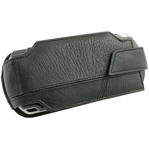 Brooklyn Leder-Tasche Case Bag Hülle für Sony PSP Slim&Lite 3004 3000 2004 2000 etc.