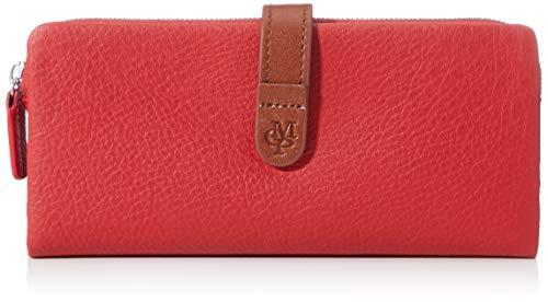 Marc O'Polo Damen Tuba Geldbörse, Rot (Rouge Red), 2x9x19 cm