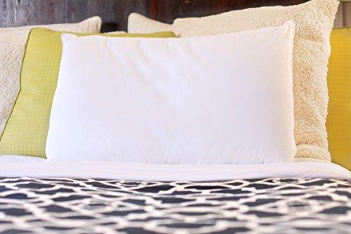 Silk Bedding Direct Oreiller en Soie. Luxe de Qualité Supérieure. 100% Soie de Mûrier. Hypoallergénique. 58 cm x 38 cm. Certification: Oeko-TEX Standard 100. Faible Prix DE Vente