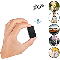Mini Magnetic Micro GPS Tracker, Anti Theft Real TimeGPS Locator Handbag Wallet Pockets School Bag Important Documents Lost Finder Tracker