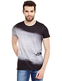 Wear Your Mind Multicolour Polyester Printed Tshirt For Men CST337
