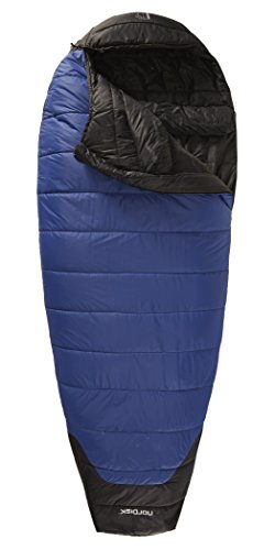 Nordisk Gorm -2° Sleeping Bag XL limoges blue/black 2016 Mumienschlafsack - 2