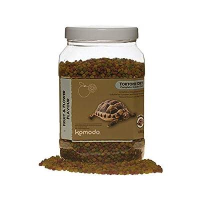 Komodo Tortoise Diet Fruit & Flower, 340 g by Komodo