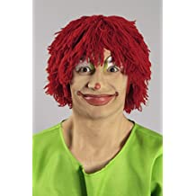 La peluca de lana y rojo Tünnes-