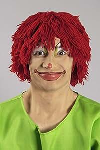 Woll perruque de–tünnes de rouge