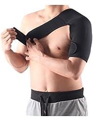 KingstonS 1x ajustable apoyo hombro derecho baloncesto caliente hombro Protector