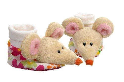 Meses Pano Valentim 9 Motivo Egmont Gato Brinquedos Tamanho Branco De De Vermelho Do Sapatos Bebê Chinelos Bebê Chinelos 3 0Z6AqwWU
