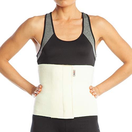 ArmoLine Wolle Rückenwärmer, Nierenwärmer, Wärmegürtel, Leibwärmer für Damen und Herren (L)