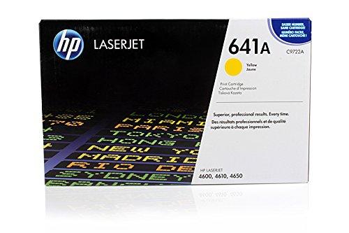 HP Color LaserJet 4650 N - Original HP / C9722A Toner Yellow -