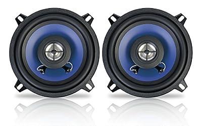 Peiying PY-1310C 13cm 5 Inch 60W 2-Way Car Coaxial Speakers Door/Shelf Pair Set