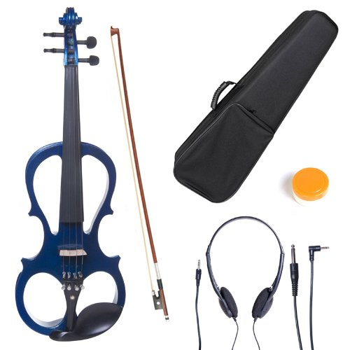 cecilio-l3-4cevn-l1bl-size-3-4-electric-violin-blue