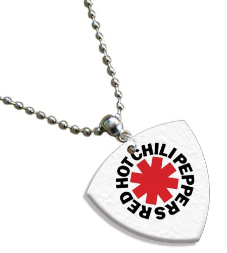 Red Hot Chili Peppers Bass (1mm Heavy gauge) Gitarre Pick Plektron Kette -