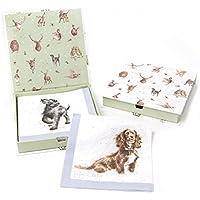 Wrendale Designs-Marsupio-Confezione da 20 tovaglioli di carta con cani