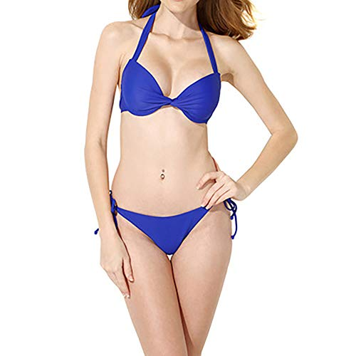 FYrainbow Frauen sammeln Bikini Zweiteilige, umweltfreundliche hohe Taille Split schnell trocknende Badeanzug Beachwear Badeanzug Polyester s, m, l,M