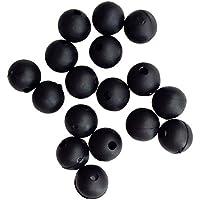 Fladen Leuchtperlen Inhalt je Packung 100 ovale Perlen Zwei Gr/ö/ßen verf/ügbar 5x6mm und 6x10mm ideal zum Vorfachbau