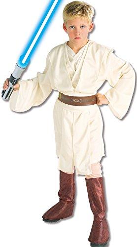Rubies Deutschland 3 882018 M - Deluxe Obi-Wan Kenobi child Größe (Themen Boot Kostüme)