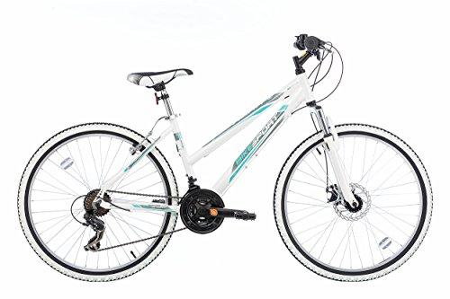 26 Zoll Bikesport AURA DAMENFAHRRAD MOUNTAINBIKE Mädchenfahrrad ALU Rahmen 41 cm SHIMANO 18 Gang