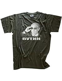 Shirtzshop T-Shirt Wladimir Putin Sonnenbrille