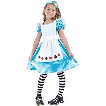 Toddler Smiffys BR45962T2 Wonderland Princess Costume Girls Blue Age 3-4 years