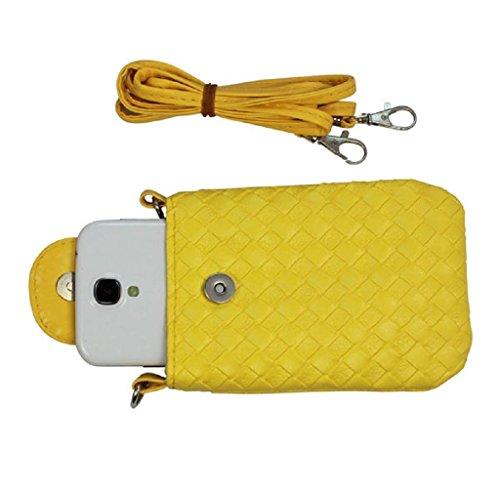 GSPStyle002639-P - Borsa a tracolla donna Giallo (giallo)