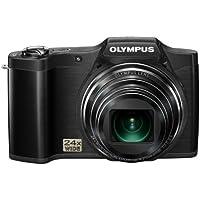 Olympus SZ-14 Digital Super Zoom Camera - Black (14MP, 24x Wide Optical Zoom) 3 inch LCD