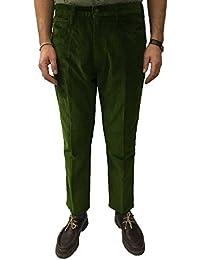 b4b8862e04eb LEVI S VINTAGE CLOTHING pantalons pour hommes en velours vert mod  30081-0007 STAPREST 85%