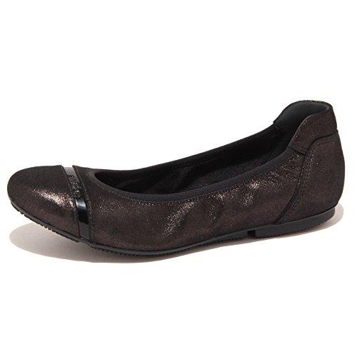 5874O ballerina HOGAN WRAP nero scarpa donna shoe woman [35.5]
