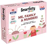 Smartivity Junior Me, Family & Numbers Pre-School STEAM Learning Educational Toy Art & Craft Play 11 i