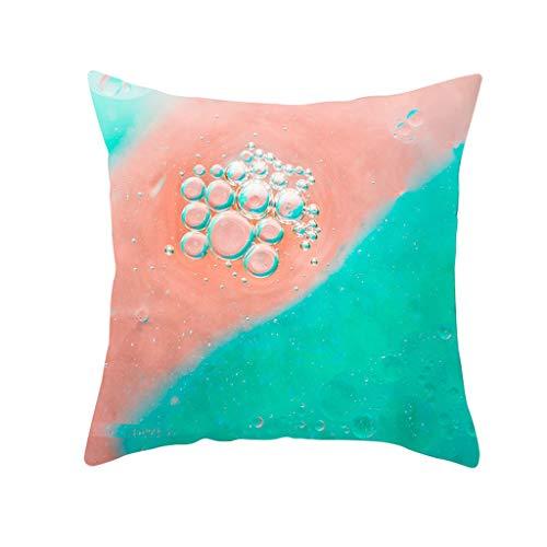 Moserian Geometric Print Polyester Square Kissenbezug Sofa Wurf Kissenbezug Home Decor