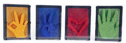 2018 Honestyi Matschig Spielzeug,Spielzeug 3D Antistress Klon Fingerabdruck Nadel Malerei Gag Weihnachten Kinder Geschenk
