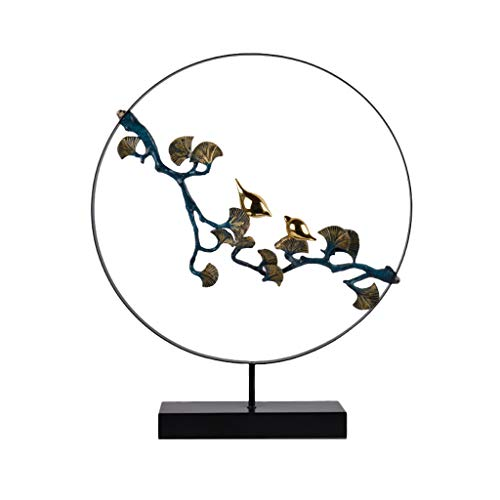 Magpie Zweig Chinese Zen Orients Skulptur Wohnzimmer Schlafzimmer Veranda Hotel Bar Dekoration