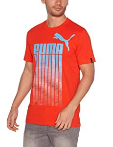 Puma Fade Out T-Shirt homme Miami Red S