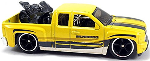 ferngesteuerte hot wheels Chevy Silverado Truck Car Culture Trucks 4/5 in 1:64 Hot Wheels DJF91 DJF77