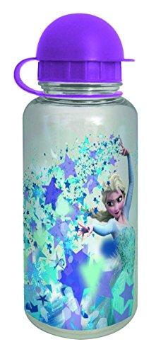 Disney Frozen 14438-Borraccia in Tritan, Elsa Stars, Circa 350ML, Plastica, Multicolore, 6,2x 17cm